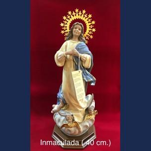 Imagen la Inmaculada de Porcelana (40cm).