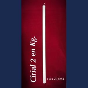 CIRIAL DE 2 EN KG.