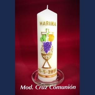 Cirio Comunion Mod. Cruz Comunion