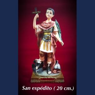 Imagen San Expedito 20 cm de Resina