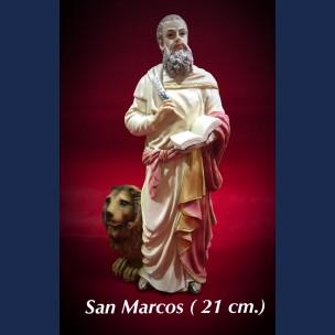 Imagen san Marcos 21 cm de Resina