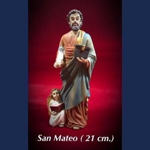 Imagen San Mateo 21 cm de Resina