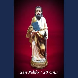 Imagen san Pablo 20 cm de Resina
