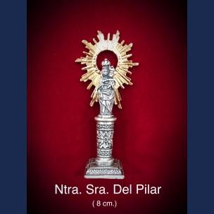 Imagen Ntra Sra del Pilar 8cm.
