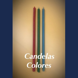 CANDELAS DE COLORES